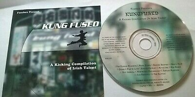 Kungfused  Rare Irish Cd Damien Dempsey The Plague Monkeys Adrian Crowley Box001