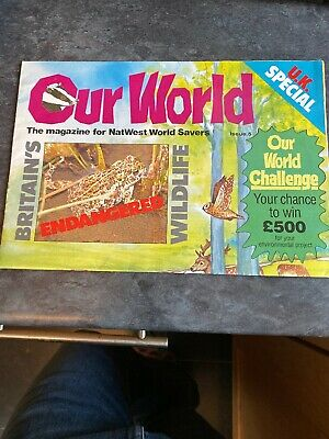Vintage Natwest Savers Our World Magazine Issue 5