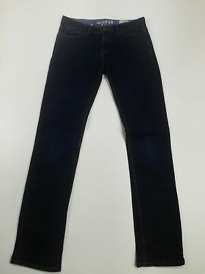 Kids Gap Super Skinny Stretch Dark Denim Jeans Age 13 W27 L30 Boys Childrens