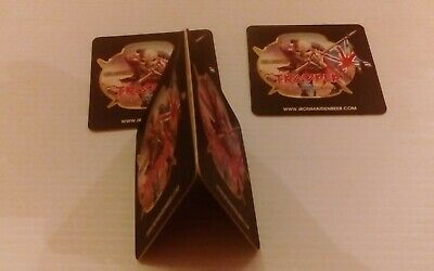 Robinsons Trooper Iron Maiden Beer Mats *NEW SET 125 ROBINSONS BREWERY