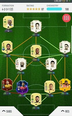 Paper Clip Plus Fifa 20 Account Ps4 Team worth approximately 7 Million
