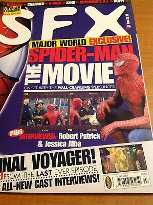 SFX Issue 79 Spiderman Movie Cover June 2001