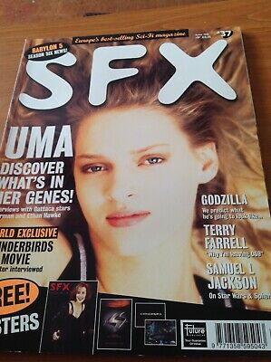 SFX Issue 37 Gattaca Uma Thurman Cover April 1998