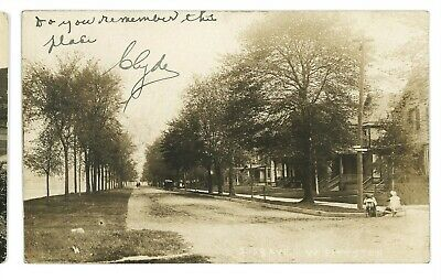 RPPC Susquehanna Ave WEST PITTSTON PA Luzerne County Real Photo Postcard