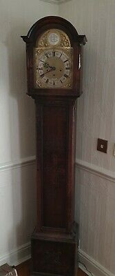 Longcase Grandfather 8 Day Clock with Westminster Chimes