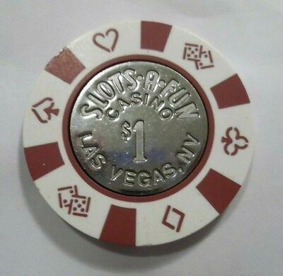 ✔ Slots A Fun $1 Casino Las Vegas Nv Dice Poker Chip