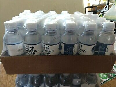 PURGE NIGHT EMERGENCY WATER-Official NFFA Supply (Case of 24)