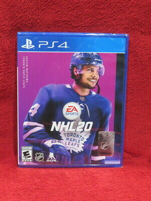 Brand New PS4 Playstation 4 NHL 20 2020 4K Hockey Video Game FREE SHIP US & PR