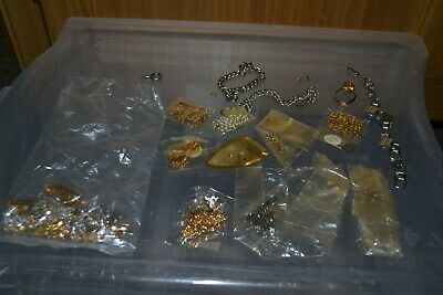 Jewellery Making Job Lot - Catches , Clasps , Chains Etc - #SB