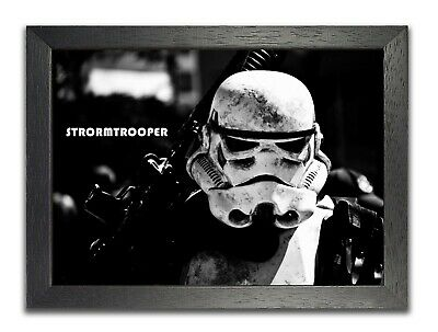 Stormtrooper Black White Soldier Star Wars Poster Galactic Empire Photo Picure