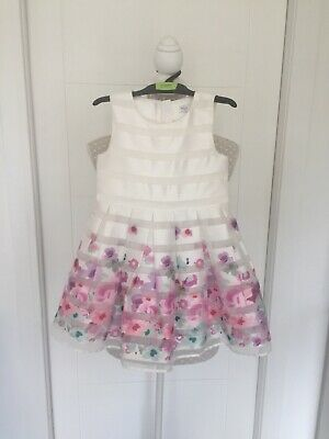 M&S Organza Flower Girl, Party, Occasion Dress, Age 3-4 Years, RRP £32.00