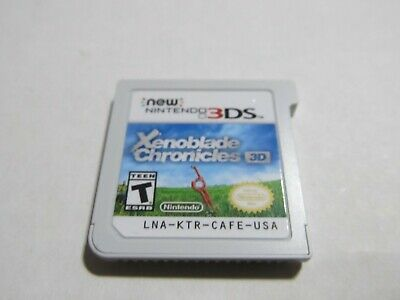 Xenoblade Chronicles 3D (Nintendo 3DS, 2015) TESTED **** PLEASE READ ****