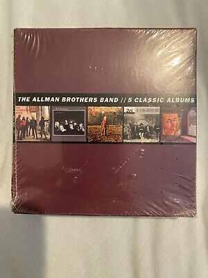 Five Classic Albums [Box] by The Allman Brothers Band (CD, 2013, 5 Discs Sealed