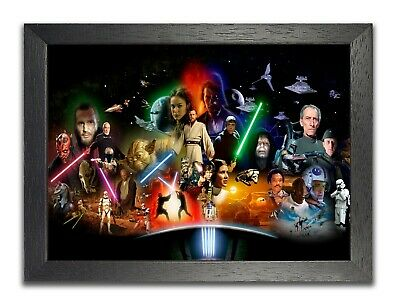Star Wars #1 Epic Space Opera Film Poster Characters Photo Sky Picture Print