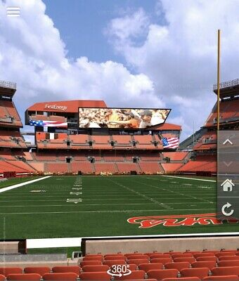 Cleveland Browns vs Bengals Tickets