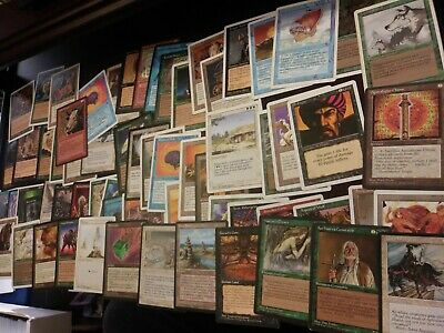 100+ OLD MAGIC CARDS BULK LOT, 1994-2003 SETS ONLY, STORE LIQUIDATION  mtg