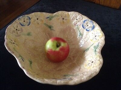 Vintage Kesington Ware Large Ceramic Bowl. Retro Art Deco 1920'S To 1950'S.