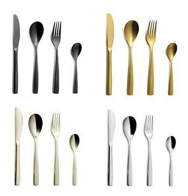 Gourmet Cutlery Gloria – 16-teiliges Stainless Steel Set without Rust Dinner