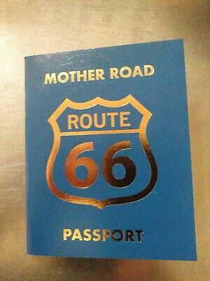 2 Mother Road (Route 66) Passport...You are buying 2 passports