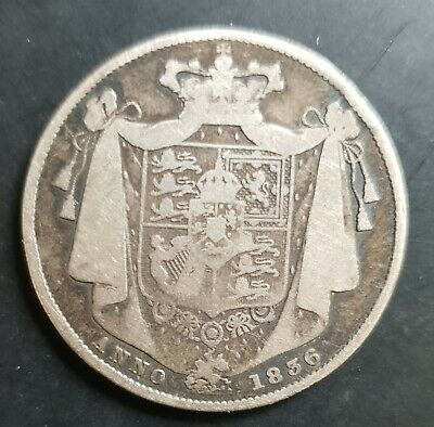 1836 UK Half ½ Crown - William IV - Circulated Coin..