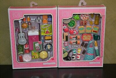 Brand New Lori Doll Accessories Packs Perfect For Barbie Dolls