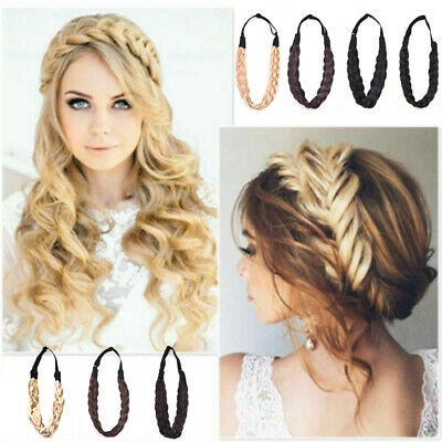 Fashion Hairband Twisted Braid Hair Bands Braided Headband Bohemian Plait Gift