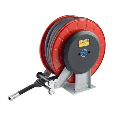 High Pressure Retractable Hose Reel, 25m Capacity, Pressure Washer excludes hose