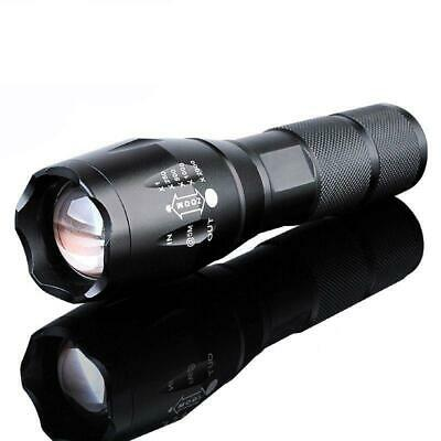 Super Bright 90000LM Zoomable LED Flashlight 5-Modes Torch Lamp Light for 18650