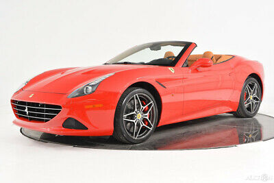2016 Ferrari California T Carbon Fiber LED Shields Camera 20 Forged Red Calipers Aluminum Footrests Chrome