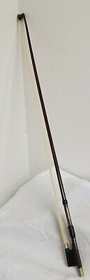 Antique Fine Violin Bow Tourte Model E Martin Sachsen Silver Wire Fiddle