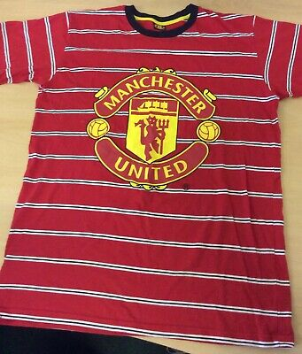 "Next Red Manchester United T Shirt, size 15-16 Years, Chest 43"", Great Condition"