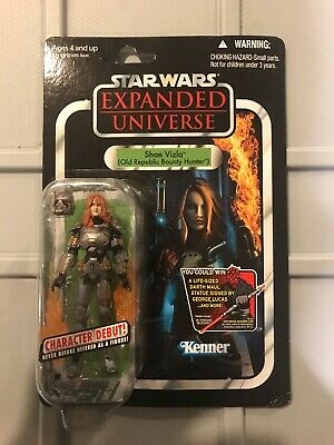 Star Wars The Vintage Collection VC101 Shae Vizla Bounty Hunter New On Card