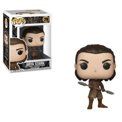 Funko Pop Game of Thrones Arya w/Two Headed Spear #79 Vinyl Figure NIB