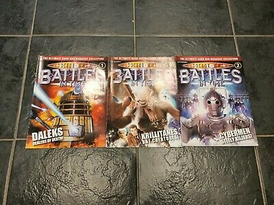 Doctor Who Battles in Time Issue 1, 2 & 3