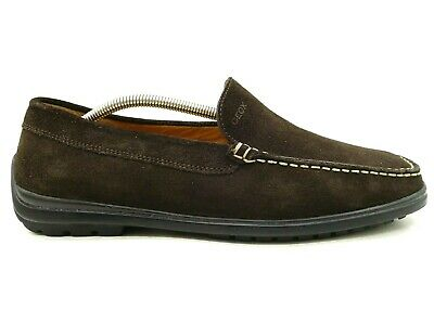 delicate colors best price buying cheap GEOX MENS MOCCASINS loafers shoes size 11/44 soft brown ...