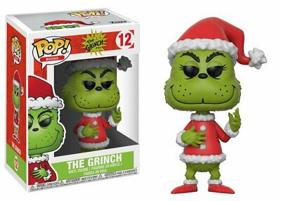 Funko Pop Books Santa Grinch Collectible Vinyl Figure