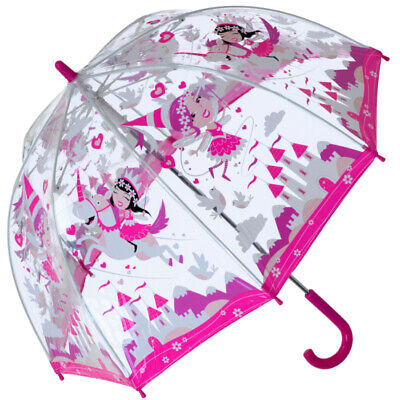 Bugzz PVC Dome Umbrella for Children (New Design) - Unicorn Wonderland