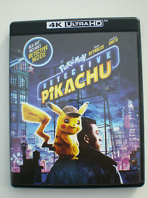 Pokémon Detective Pikachu │ 4K Ultra HD Only │ No Digital Copy │ No Slipcover