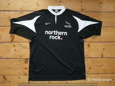 NEWCASLTE FALCONS Rugby SHIRT Nike England Rugby Jersey size XL