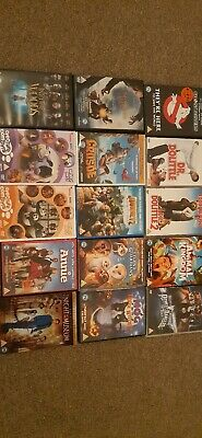Kids Childrens x15 DVDs PG rated FREE P&P