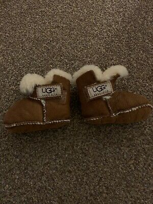 Baby Ugg Boots Size Small. Chestnut Brown