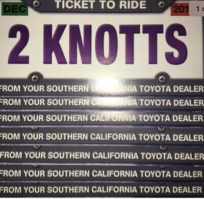 Knotts Berry Farm - 1 Pass Good for 2 General Admission Tickets