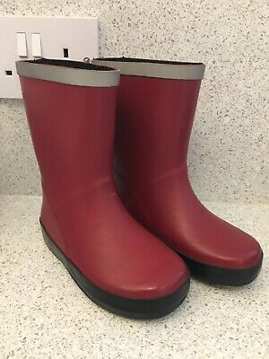 Clarks Infant Wellies Red Size 8