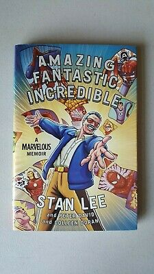 Stan Lee Amazing Fantastic Incredible Hardcover Book | No Reserve! ~ StoryTeller