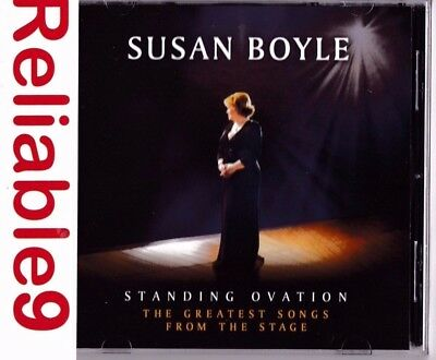 Susan Boyle - Standing ovation The greatest songs from the stage CD 2012 Sony AU