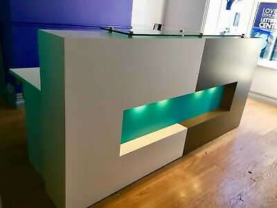 Cool, Business, Sleek Reception desk in excellent condition Lincoln.
