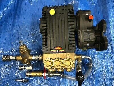 F/P Ws2030 Interpump 200Bar 3000Psi @ 30Ltrs Pump Gearbox Unloader Prime Frost