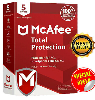 Download McAfee Total Protection 2020 5️⃣ Device 5️⃣ Year Instant Delivery📥