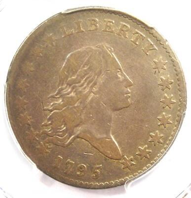 "1795 Flowing Hair Half Dollar 50C Coin O-129 ""S over D"" - PCGS F12 - $2150 Value"