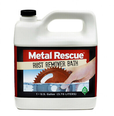 Metal Rescue Liquid Rust Remover Bath 1 Gallon Jug (3.78 Liters)
